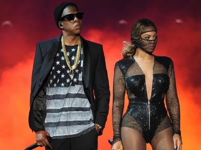 On the Run Tour: Beyoncé and Jay-Z tv show photo