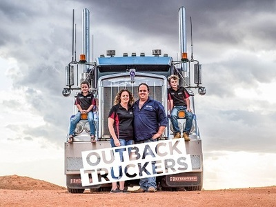 Outback Truckers tv show photo