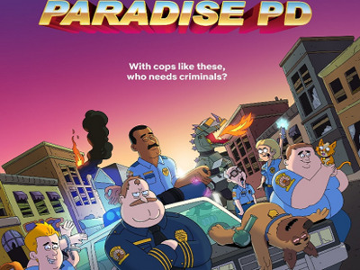 Paradise PD tv show photo