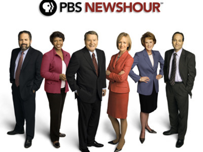 PBS Newshour tv show photo