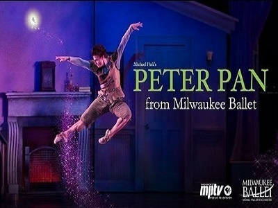 Peter Pan from the Milwaukee Ballet
