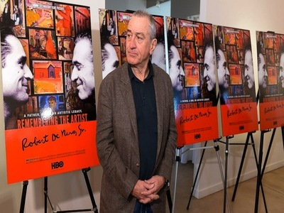 Remembering the Artist, Robert De Niro, Sr. tv show photo