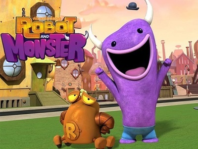 Robot and Monster tv show photo