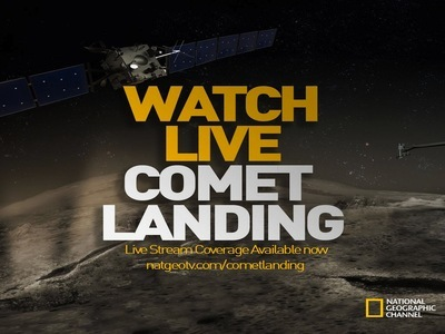 Rosetta: Comet Landing (UK) tv show photo