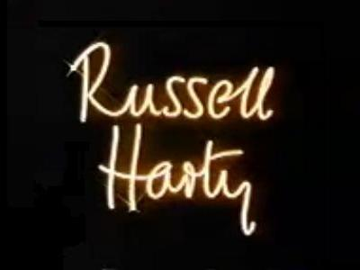 Russell Harty (UK) tv show photo