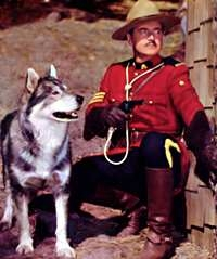 Sergeant Preston of the Yukon tv show photo