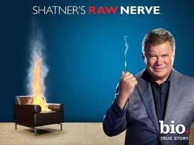 Shatner's Raw Nerve tv show photo