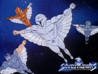 SilverHawks tv show photo