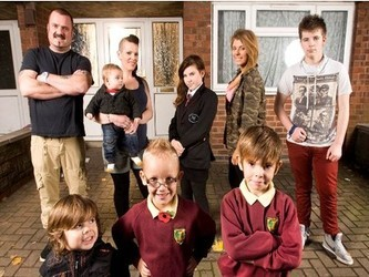 Skint (UK) tv show photo