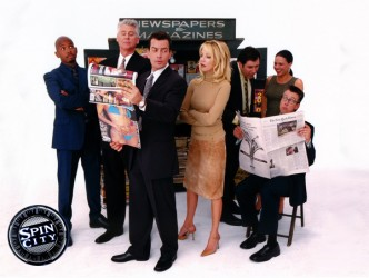 Spin City tv show photo
