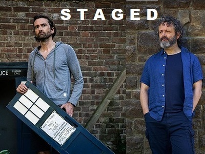 Staged tv show photo