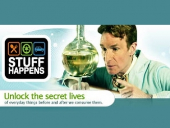 Stuff Happens Hosted by Bill Nye tv show photo