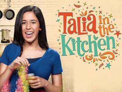 Talia in the Kitchen tv show photo