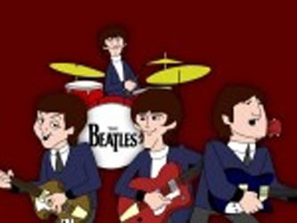 The Beatles tv show photo