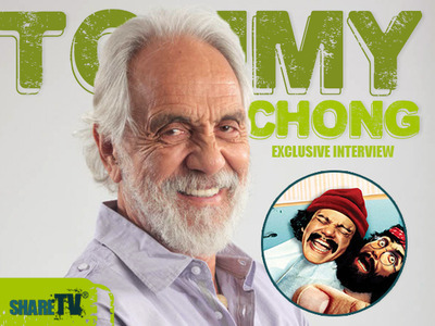 Exclusive Tommy Chong Interview