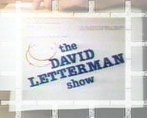 The David Letterman Show tv show photo