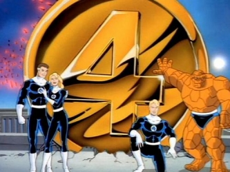 The Fantastic Four tv show photo