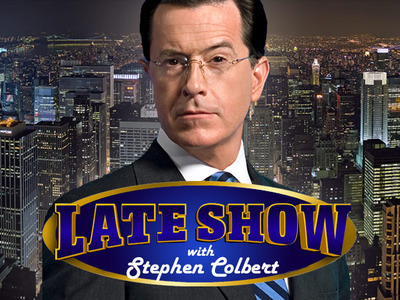 The Late Show with Stephen Colbert tv show photo