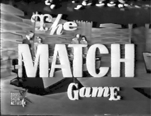 The Match Game tv show photo