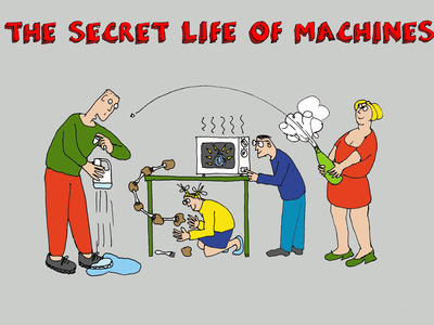 The Secret Life of Machines (UK) tv show photo