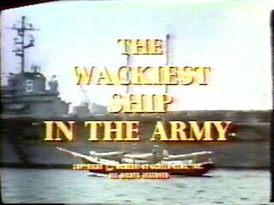 The Wackiest Ship in the Army tv show photo