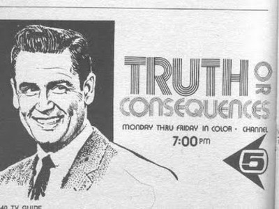 Truth Or Consequences tv show photo