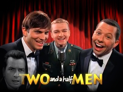Two and a Half Men tv show photo