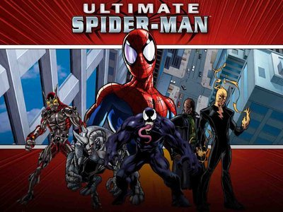 Ultimate Spider-man tv show photo
