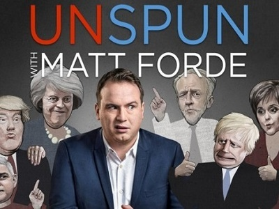 Unspun with Matt Forde tv show photo