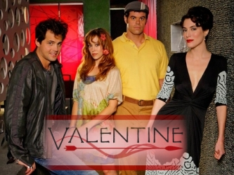 Valentine tv show photo