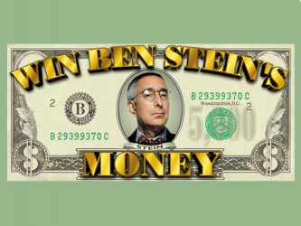 Win Ben Stein's Money tv show photo