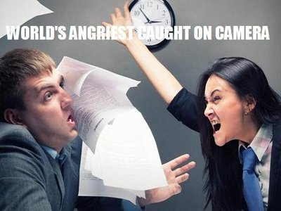Worlds Angriest Caught on Camera (UK)