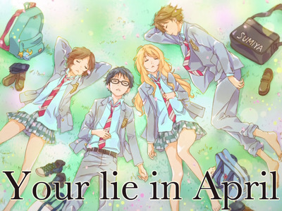 Your Lie in April tv show photo