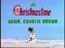 It's Christmastime Again, Charlie Brown TV Show