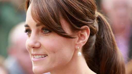 S32E0 Kate Middleton's Perfect Ponytail Is the Definition of Regal Elegance