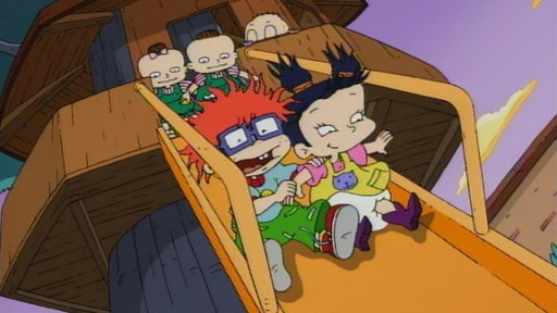 Watch Rugrats S08e05 Angelicon Dil S Binkie Big Brother Chuckie Sharetv