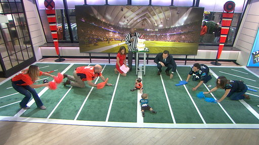 """""""NBC TODAY Show S0E0 Super Bowl 50: Babies Adorably Attempt to Predict Winner"""""""