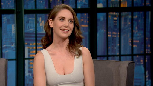 """Late Night With Seth Meyers S3E66 Alison Brie: The Only Naked Person at a Fancy Spa"""
