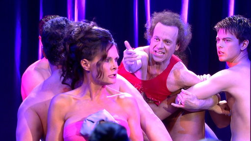 Richard Simmons Attacks Lucy Coe