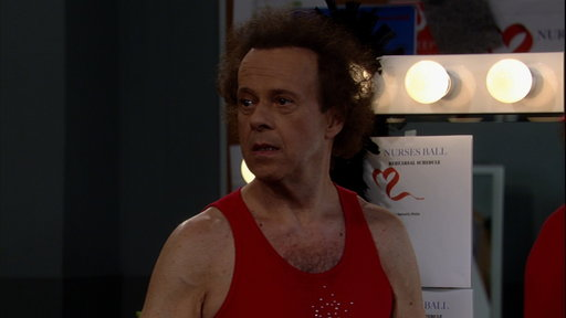 Richard Simmons Crashes the Nurses' Ball