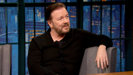 Late Night with Seth Meyers S03E99 Ricky Gervais, Tituss Burgess, Tony Tulathimutte