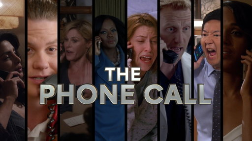 S7E10 The Phone Call, ABC Mash-Up Minute