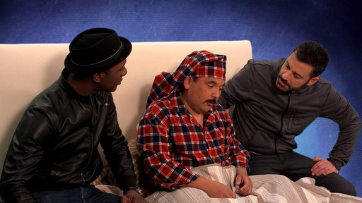 S14E93 The Dikembe Mutombo Song With Jimmy Kimmel and Aloe Blacc