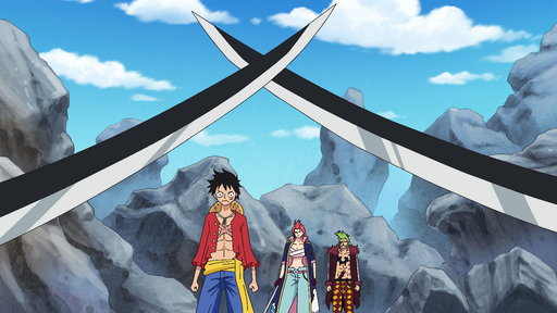 S11E750 (Sub) A Desperate Situation! Luffy Fights a Battle in Extreme Heat!