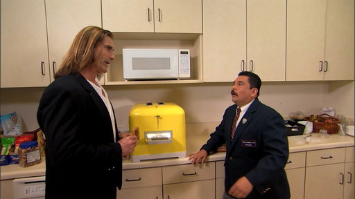 S14E100 Commercial for I Can't Believe It's Not Butter With Guillermo & Fabio