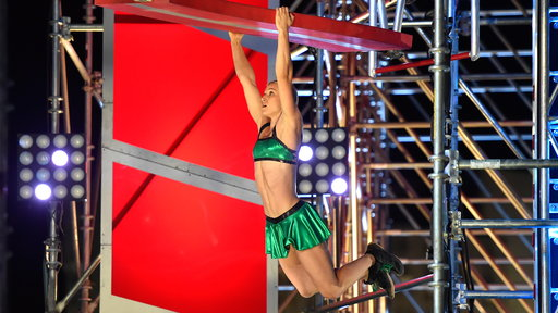 Season 8, Episode #13 Jessie Graff - Stage 2 Screenshot