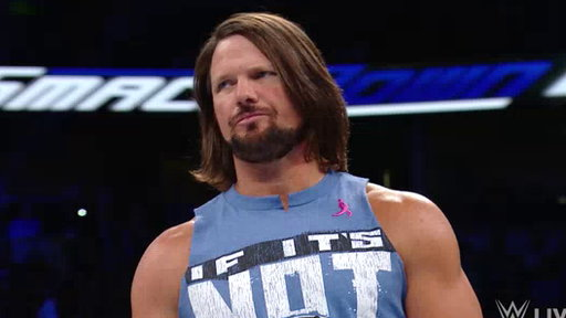 Season 18, Episode #896 AJ Styles vs. James Ellsworth Screenshot