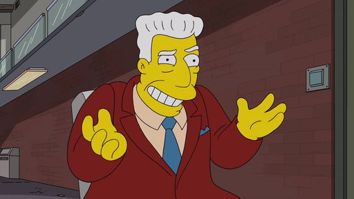 S28E5 Kent Brockman Interviews at BizzFad