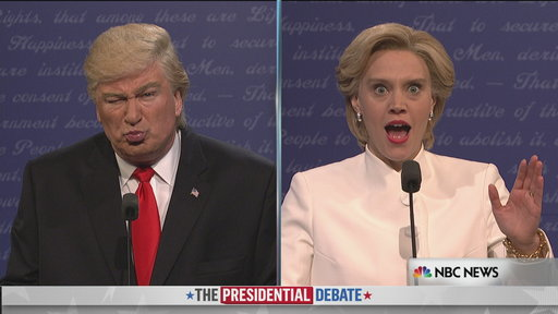 S42E04 Donald Trump vs. Hillary Clinton Third Debate Cold Open