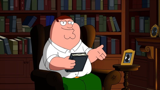 S15E7 Peter Griffin Introduces the Great Gatsby